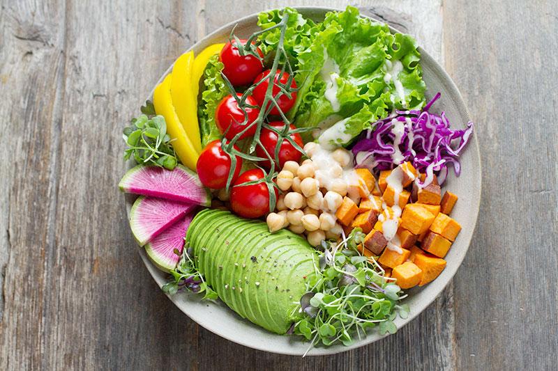 Vegane Ernährung ist bunt und abwechslungsreich