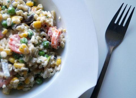 Rezept | schnelle Ebly-Gemüse-Pfanne | vegan
