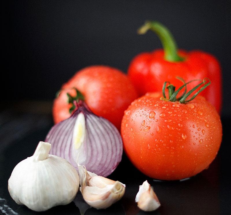 Die vegane Ernährungspyramide | Obst & Gemüse