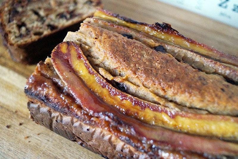 Rezept | veganes Bananenbrot mit Schokolade | einfach vegan