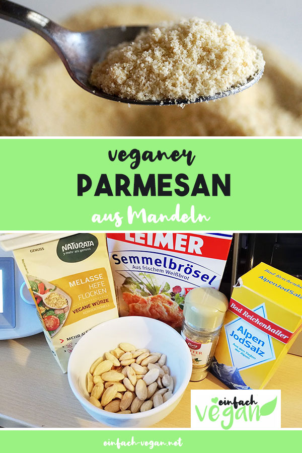 Rezept | veganer Parmesan | Der beste vegane Parmesanersatz