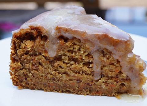 Rezept | veganer Möhrenkuchen | einfach vegan
